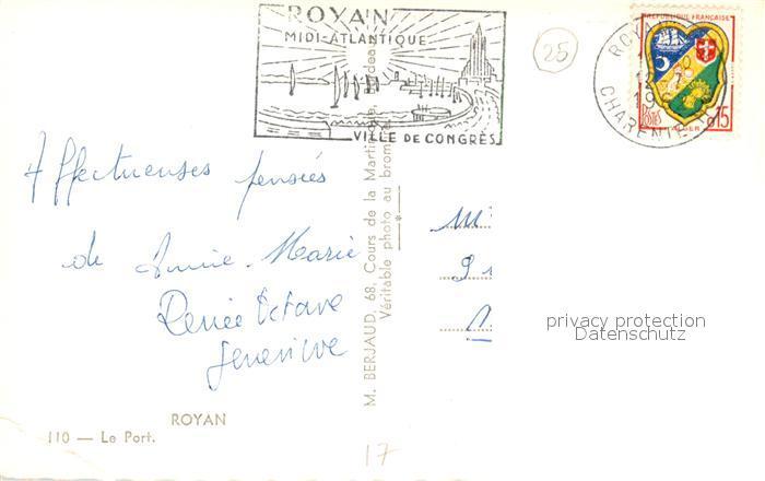 AK / Ansichtskarte Royan_Charente Maritime Le Port Bateaux Royan Charente Maritime 1
