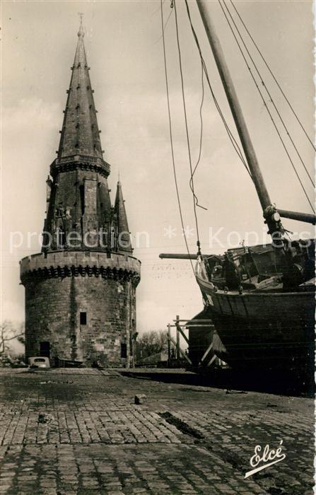 AK / Ansichtskarte La_Rochelle_Charente Maritime Tour de la Lanterne La_Rochelle 0