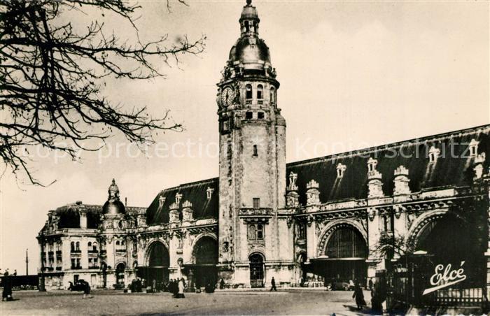 AK / Ansichtskarte La_Rochelle_Charente Maritime La Gare La_Rochelle 0