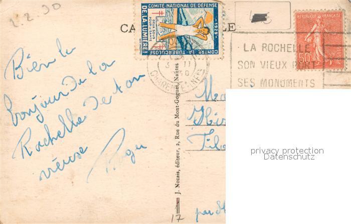 AK / Ansichtskarte La_Rochelle_Charente Maritime Jeu de Croquet Parc du Casino La_Rochelle 1