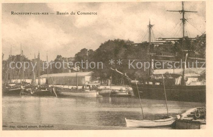 AK / Ansichtskarte Rochefort_sur_Mer Bassin du Commerce Bateaux Rochefort_sur_Mer 0