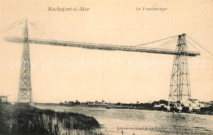 AK / Ansichtskarte Rochefort_sur_Mer Pont Transbordeur Rochefort_sur_Mer 0