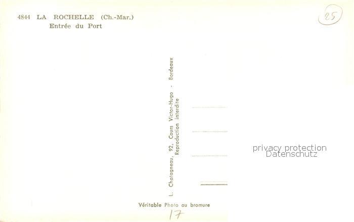 AK / Ansichtskarte La_Rochelle_Charente Maritime Entree du Port et ses Tours La_Rochelle 1
