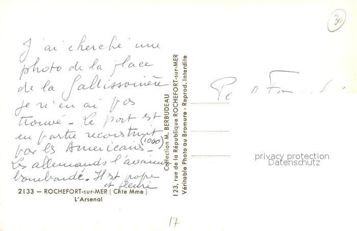 AK / Ansichtskarte Rochefort_sur_Mer Arsenal Rochefort_sur_Mer 1
