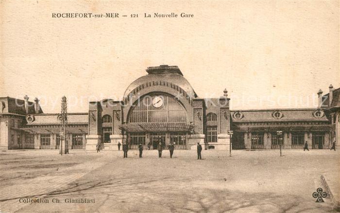 AK / Ansichtskarte Rochefort_sur_Mer La Nouvelle Gare Rochefort_sur_Mer 0
