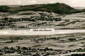 AK / Ansichtskarte Ahnsen Oberkirchen Panorama Weserberge  Ahnsen