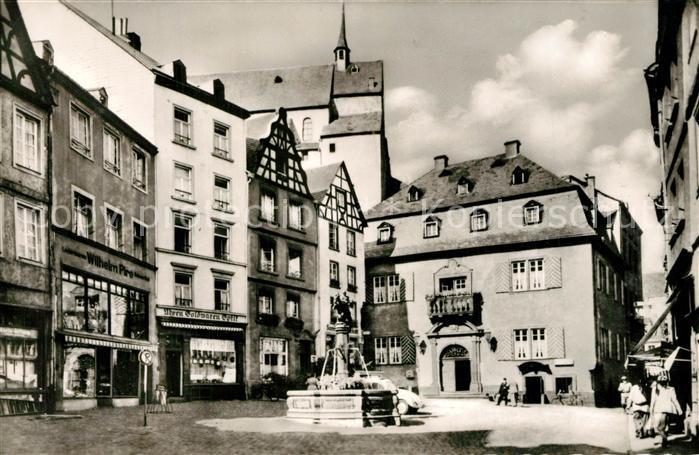 AK / Ansichtskarte Cochem_Mosel Marktplatz Cochem Mosel 0