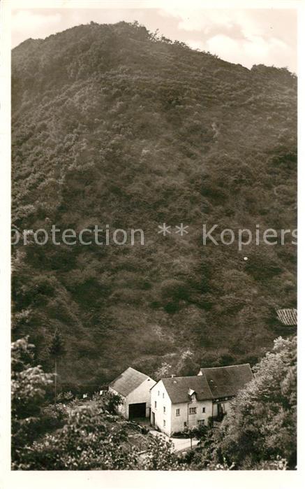AK / Ansichtskarte Cochem_Mosel Privatpension Berns Weissmuehle Cochem Mosel 0