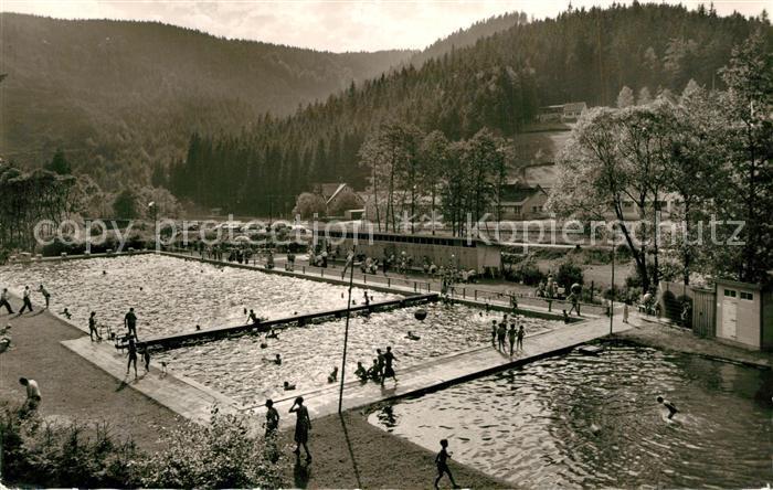 AK / Ansichtskarte Warmensteinach Waldschwimmbad Warmensteinach 0