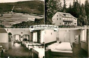 AK / Ansichtskarte Bischofsgruen Hoyer Baude Panorama Bischofsgruen