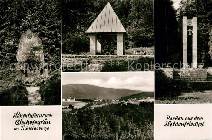 AK / Ansichtskarte Bischofsgruen Heldenfriedhof Bischofsgruen 0