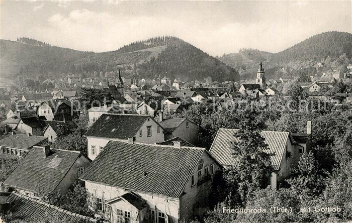 AK / Ansichtskarte Friedrichroda Panorama Gottlob Friedrichroda 0