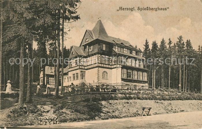AK / Ansichtskarte Friedrichroda Herzogliches Spiessberghaus Friedrichroda 0