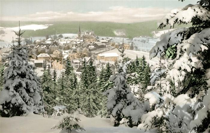 AK / Ansichtskarte Bischofsgruen Winterlandschaft Bischofsgruen 0