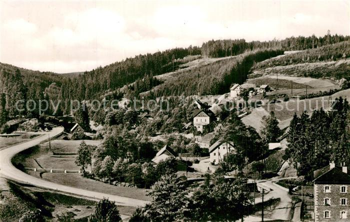 AK / Ansichtskarte Bischofsgruen Panorama Glasermuehle Bischofsgruen