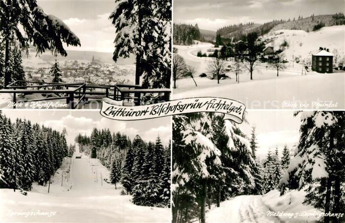 AK / Ansichtskarte Bischofsgruen Winterlandschaften Bischofsgruen 0