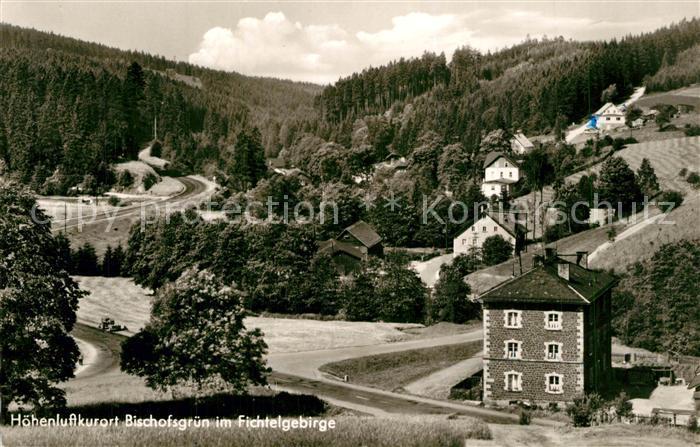 AK / Ansichtskarte Bischofsgruen Glasermuehle Panorama Bischofsgruen