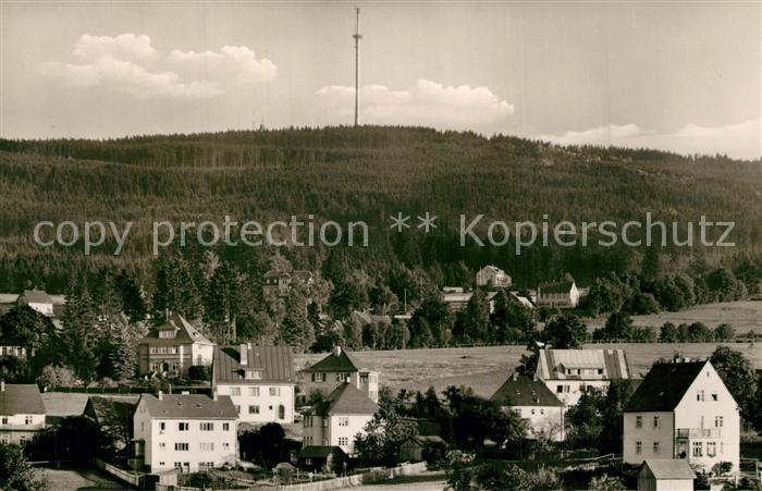 AK / Ansichtskarte Bischofsgruen Panorama Gasthof Hoyer Baude Bischofsgruen 0