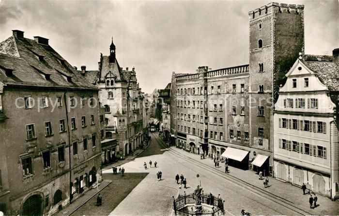 AK / Ansichtskarte Regensburg Haidplatz Regensburg 0