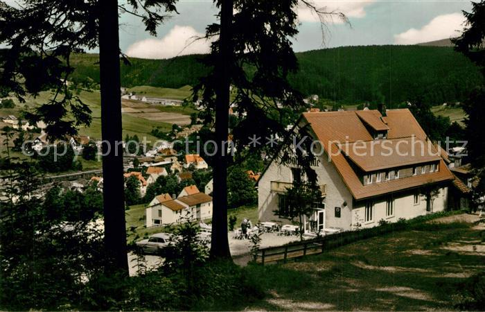 AK / Ansichtskarte Warmensteinach Pension Gasthaus Waldbaude Warmensteinach 0