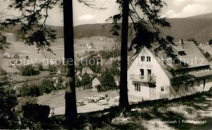 AK / Ansichtskarte Warmensteinach Gasthaus Waldbaude Warmensteinach