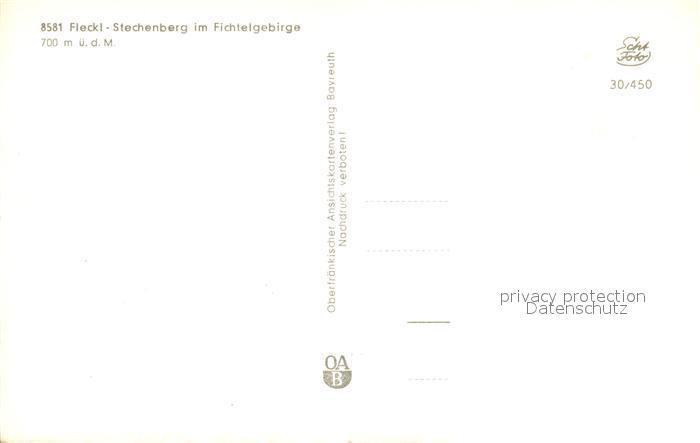 AK / Ansichtskarte Fleckl Stechenberg Panorama Fleckl 1
