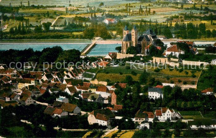 AK / Ansichtskarte Breisach_Rhein Fliegeraufnahme Breisach Rhein 0