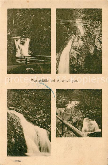 AK / Ansichtskarte Allerheiligen_Oppenau Wasserfaelle Allerheiligen_Oppenau 0