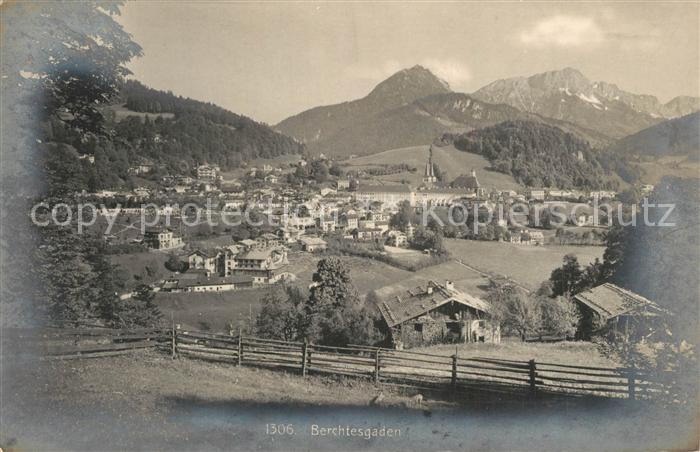 AK / Ansichtskarte Berchtesgaden Panorama Berchtesgaden 0