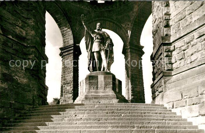 AK / Ansichtskarte Porta_Westfalica Kaiser Wilhelm Denkmal Porta_Westfalica 0