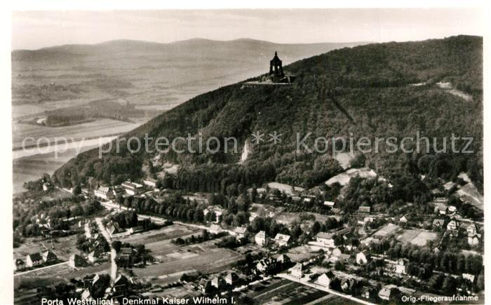 AK / Ansichtskarte Porta_Westfalica Denkmal Kaiser Wilhelm I Porta_Westfalica 0