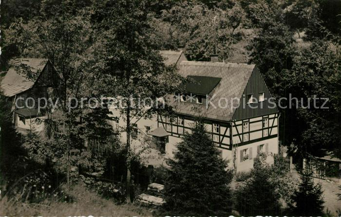 AK / Ansichtskarte Kleinhennersdorf Waldidyll Liethenmuehle Kleinhennersdorf 0