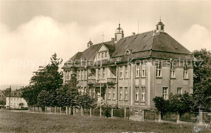 AK / Ansichtskarte Pulsnitz_Sachsen Krankenhaus Pulsnitz Sachsen 0