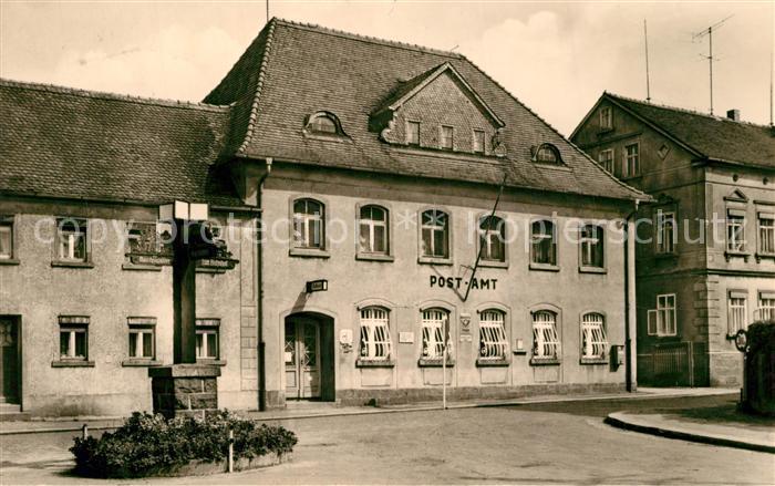 AK / Ansichtskarte Wilthen Postamt Wilthen 0