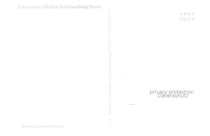 AK / Ansichtskarte Elsterwerda Noacks Buchhandlung Elsterwerda 1