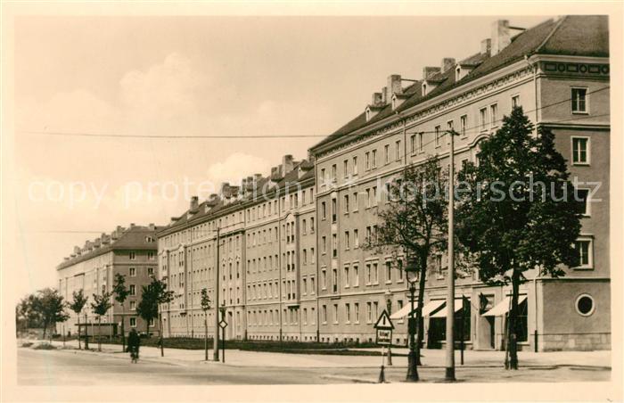AK / Ansichtskarte Dresden Wohnungsneubauten an der Nuernberger Strasse Dresden 0