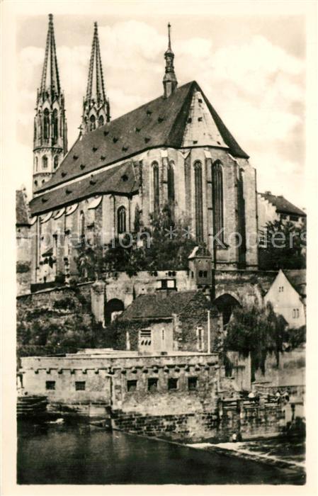 AK / Ansichtskarte Goerlitz_Sachsen Peterskirche Goerlitz Sachsen 0