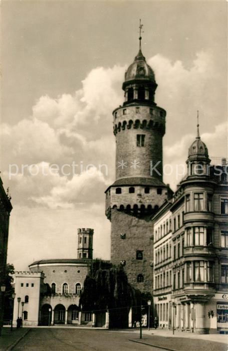 AK / Ansichtskarte Goerlitz_Sachsen Reichenbacher Turm und Kaisertrutzmuseum Goerlitz Sachsen 0