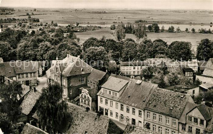 AK / Ansichtskarte Buetzow Panorama mit Buetzower See Buetzow 0