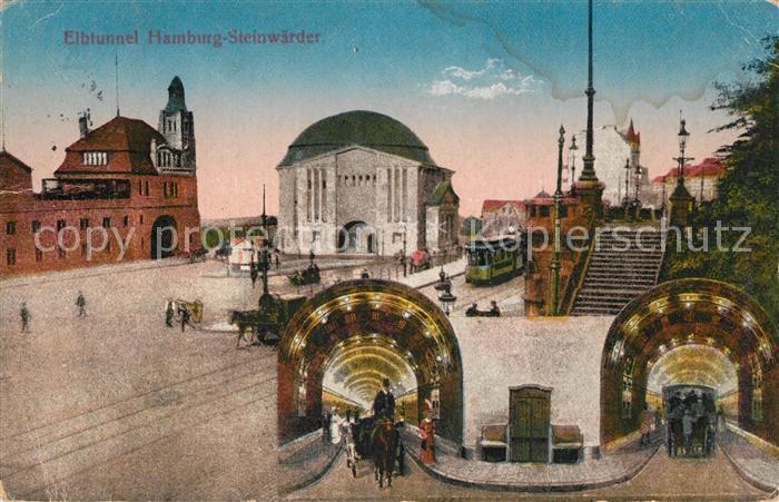 AK / Ansichtskarte Steinwerder_Hamburg Elbtunnel Steinwerder Hamburg 0