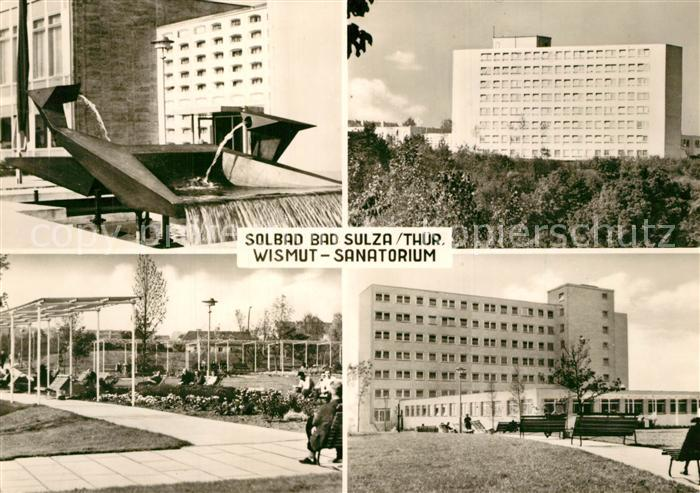 AK / Ansichtskarte Bad_Sulza Solbad Wismut Sanatorium Bad_Sulza