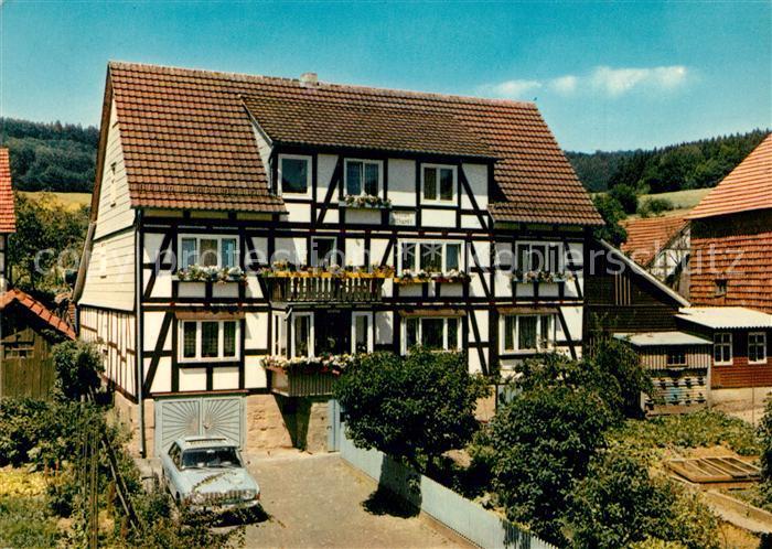 AK / Ansichtskarte Wickersrode Privatpension Jllhardt Wickersrode