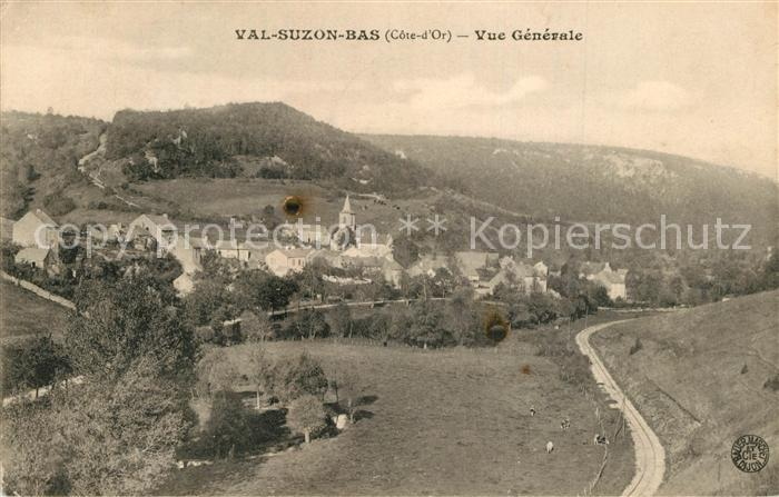 AK / Ansichtskarte Val Suzon Vue generale Val Suzon