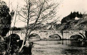 AK / Ansichtskarte Vigeois Le Vieux Pont sur la Vezere Vigeois