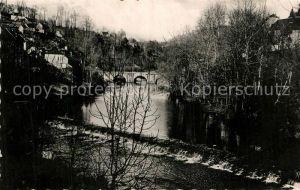 AK / Ansichtskarte Vigeois Barrage et Pont sur la Vezere Vigeois
