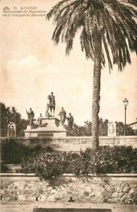AK / Ansichtskarte Ajaccio Monument de Napoleon I Empereur Romain Ajaccio