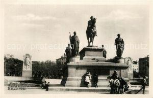 AK / Ansichtskarte Ajaccio Statue de Napoleon I et ses 4 freres Ajaccio