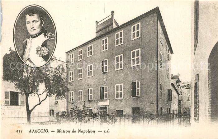 AK / Ansichtskarte Ajaccio Maison de Napoleon Ajaccio