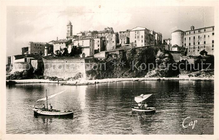 AK / Ansichtskarte Bastia La Citadelle et la vieille Tour Bastia