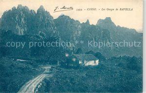 AK / Ansichtskarte Corse_Ile_de Les Gorges de Bavella Corse_Ile_de